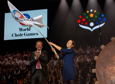 Slotceremonie World Choir Games 2018 South Africa