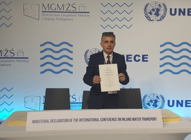 Yves Wantes - UNECE conference in Poland