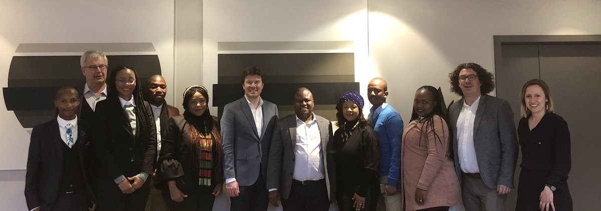 South African delegation gets acquainted with Flemish expertise on youth cooperation